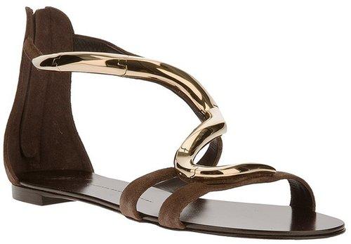 Giuseppe Zanotti Design zip fastening sandal