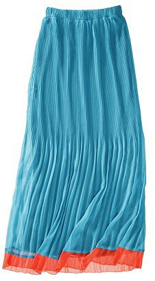 Mossimo® Womens Pleated Chiffon Maxi Skirt - Assorted Colors