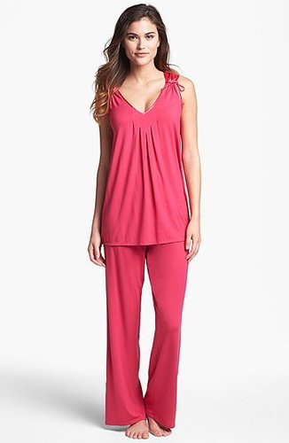Midnight by Carole Hochman 'After Dark' Pajamas Bright Raspberry Medium