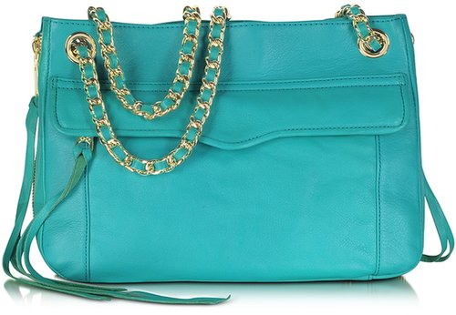 Rebecca Minkoff Swing Genuine Leather Shoulder Bag