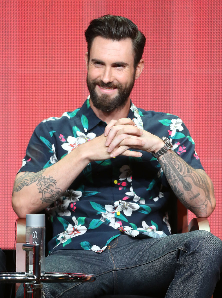 "Adam Levine ""Carson is the most high-profile babysitter in the world."" — On The Voice host Carson Daly, at the show's panel"