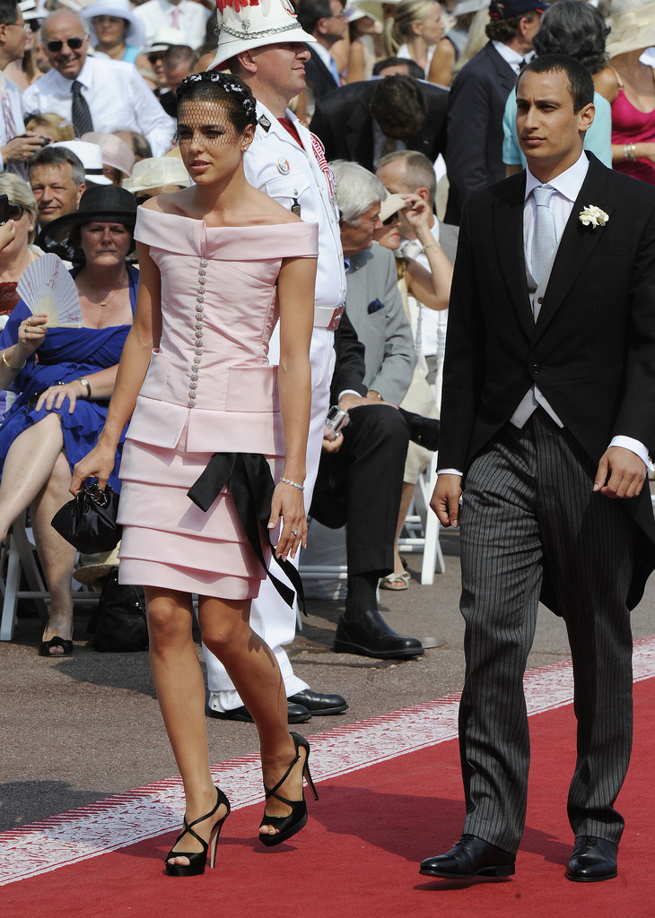 Charlotte and her then-boyfriend, Alexander Dellal, attended Prince Albert and Charlene's religious wedding ceremony. Beginning in 2007, Charlotte dated the 30-year-old London art gallery owner, whose godfather Mario Testino happened to shoot Charlotte for a 2011 French Vogue cover. In early 2012, news broke that the pair split, and Alex went on to have a baby boy with Chanel muse Elisa Sednaoui on May 31, 2013.
