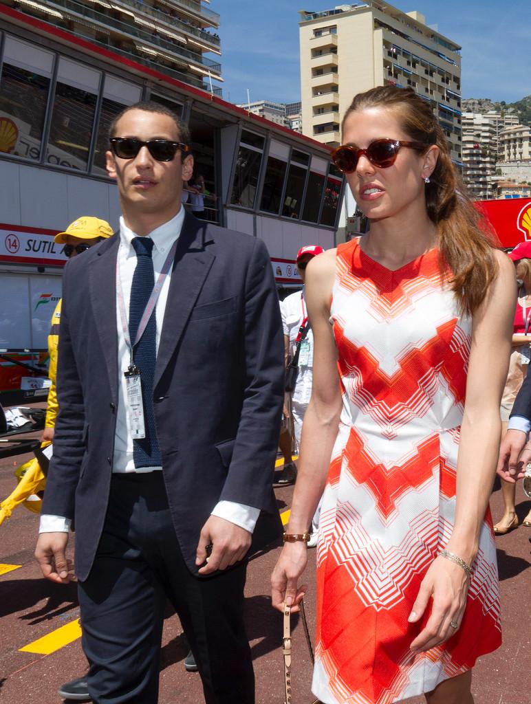 Charlotte and her former boyfriend, Alex, attended the Monaco Grand Prix in 2011.