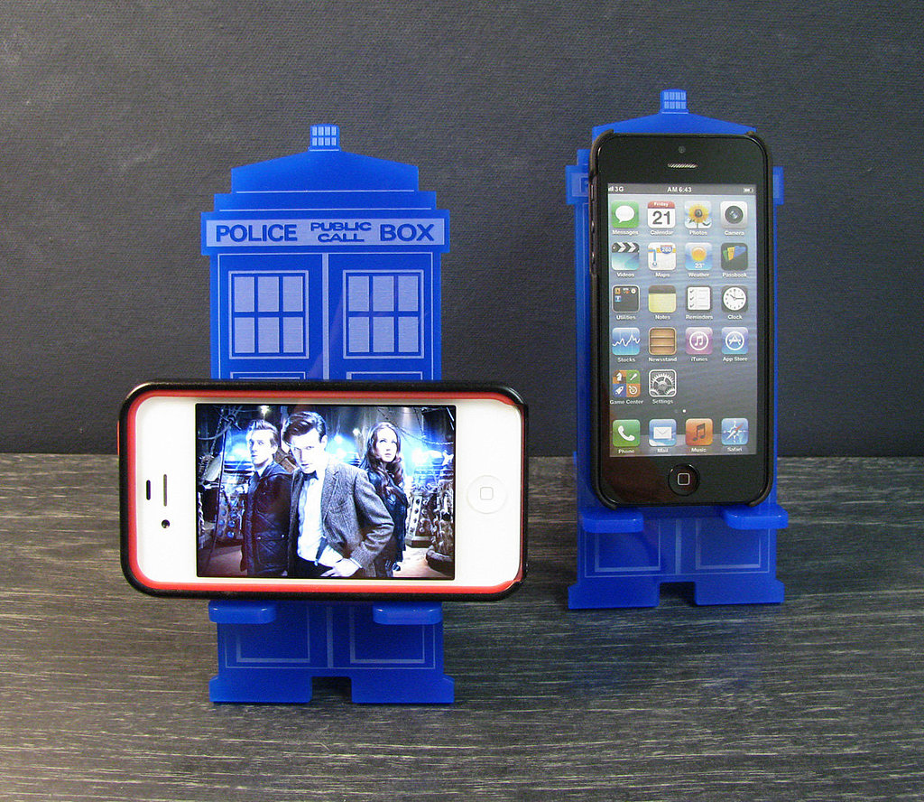 This TARDIS iPhone Docking Station ($24) doesn't come with the frills of the other docks on the list, but gets major points for repping Doctor Who.