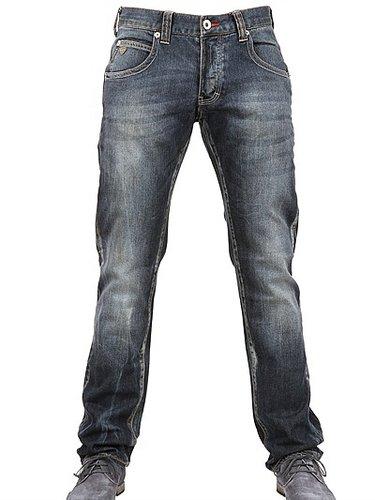 19,5cm Low Waist Stretch Denim Jeans