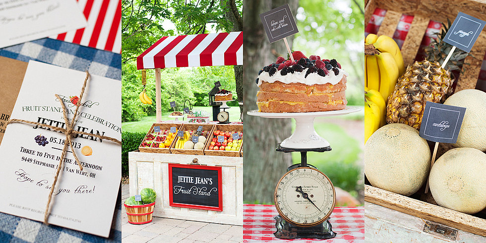 It's a Produce Party! A Fun, Fruit Stand-Themed Birthday Bash