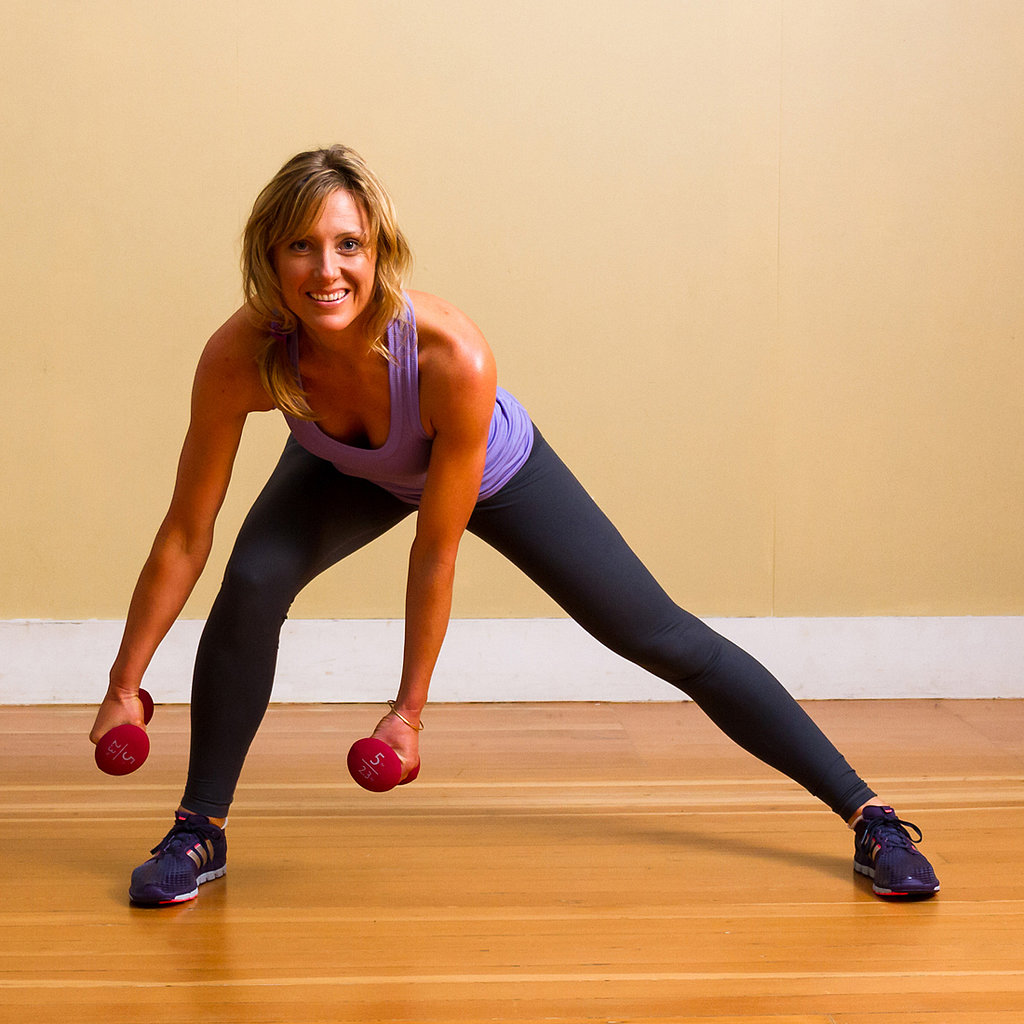 Side Lunge With Weights