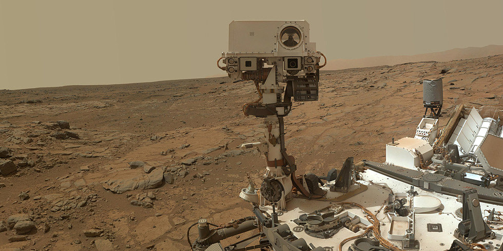 Curiosity Celebrates One Year on Mars by Taking Your Questions