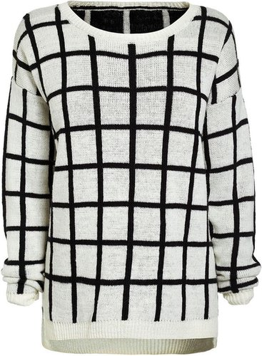 Next Checked Sweater