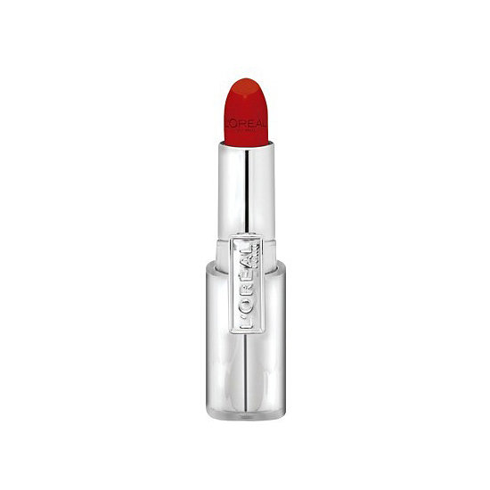 If you want to steal Gwen Stefani's signature red lip style, then try the L'Oréal Infallible Le Rouge Lipstick in Ravishing Red ($9). It's got a soft, satiny finish that lands somewhere between matte and glossy.