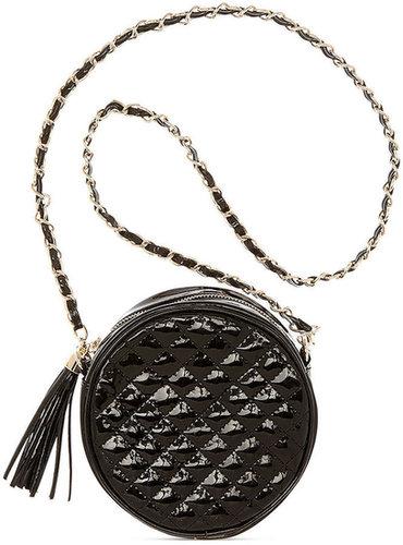 SR Squared by Sondra Roberts Handbag, Quilted Crossbody