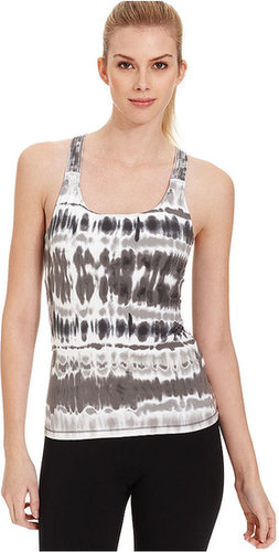 Calvin Klein Performance Top, Sleeveless Basketweave Tie-Dye Tank