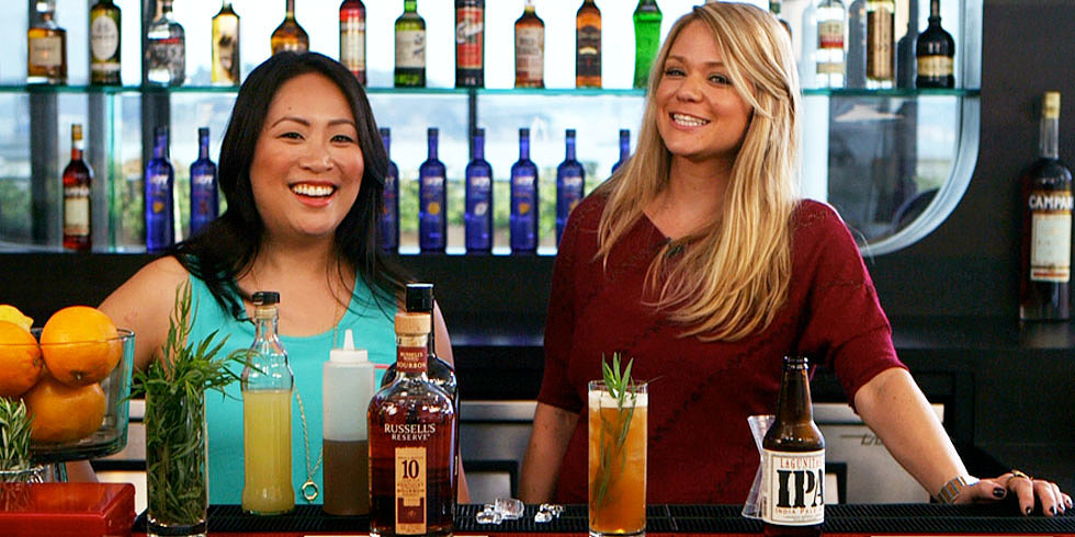 Bourbon and Beer Team Up in a Bracing Summer Cocktail