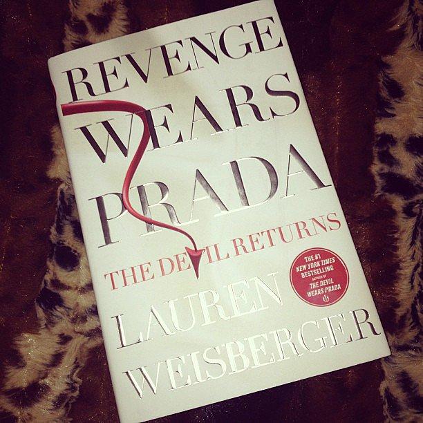 "Mandinvilla explains her pick: ""Revenge and Prada — two of my favorite things!"""