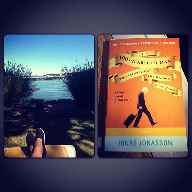 Carpenterlizzy got in some vacation reading.