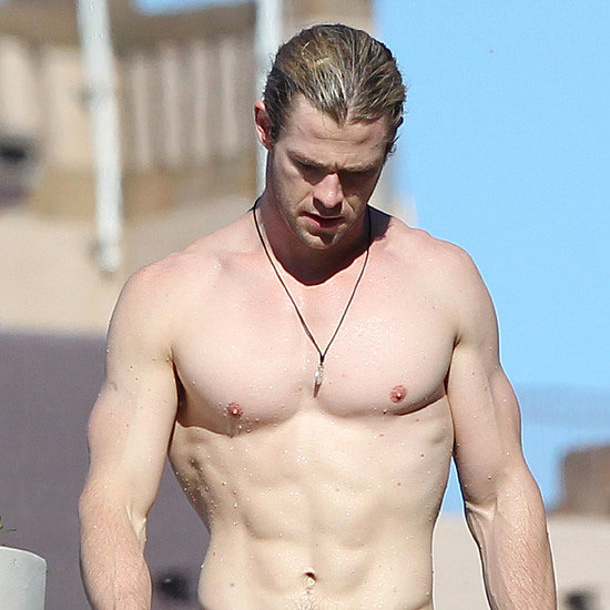 Hot Chris Hemsworth Pictures