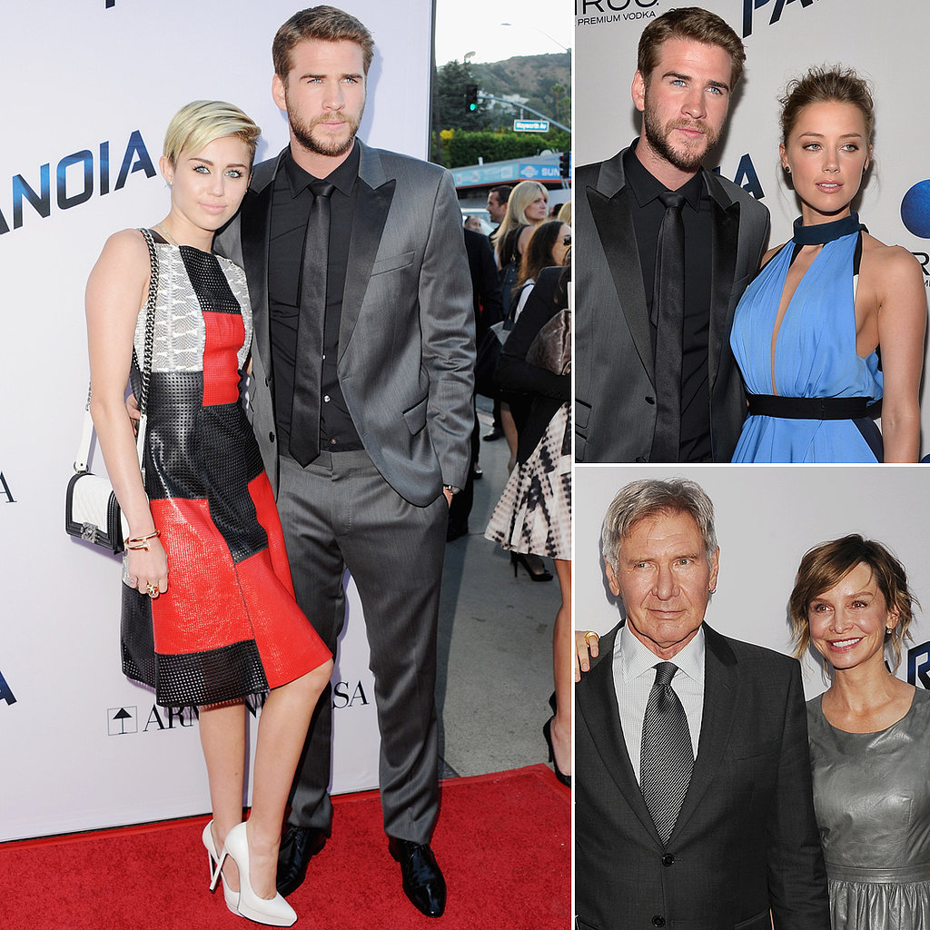 Liam Hemsworth And Noah Cyrus