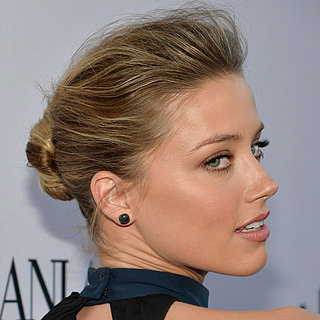 Beautiful Celebrity Hair & Makeup Inspiration: Amber Heard