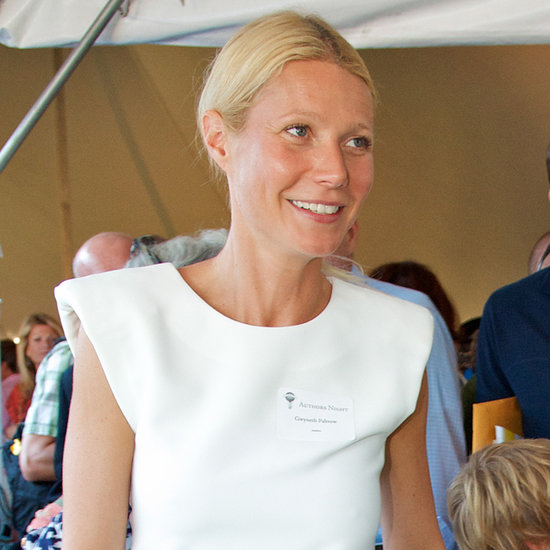 Gwyneth Paltrow and Kids at Authors Night in the Hamptons