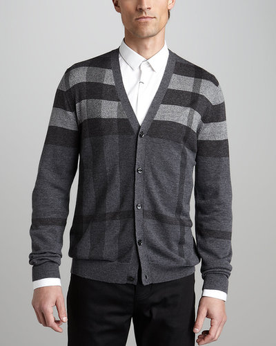 Burberry London Check Cardigan