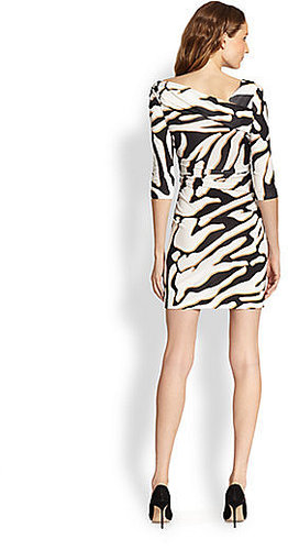 Diane von Furstenberg Bentley Zebra-Print Dress