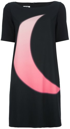 Moschino Cheap & Chic printed shift dress