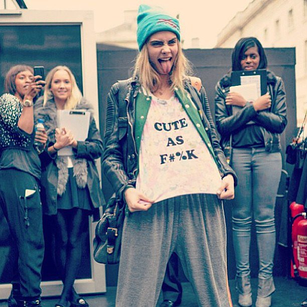 You said it! Source: Instagram user caradelevingne