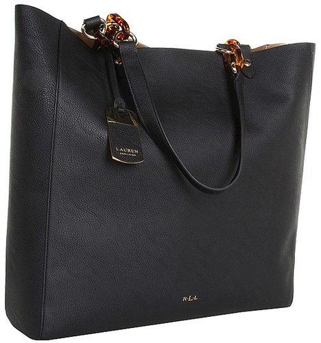 LAUREN Ralph Lauren - Bembridge N/S Tote (Black) - Bags and Luggage
