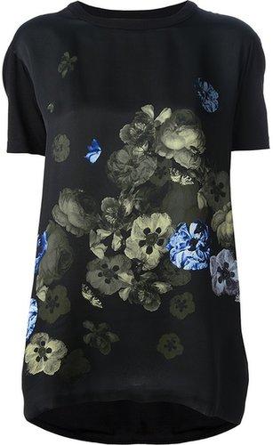 Giambattista Valli floral print top