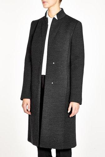 Philosophy di Alberta Ferretti Charcoal Tailored Coat