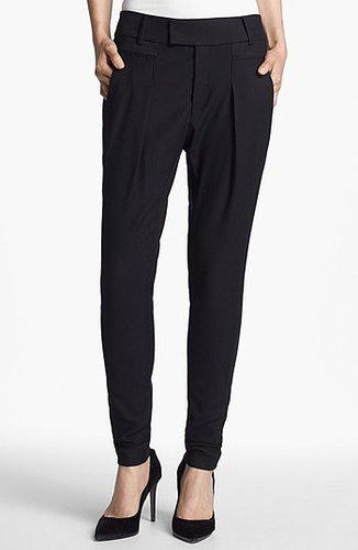 Helmut Lang Draped Pants Womens Black Size 8 8