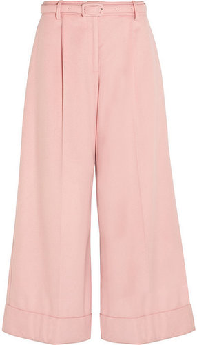 Simone Rocha Wide-leg wool-blend pants