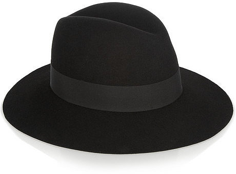 Saint Laurent Rabbit-felt fedora