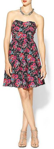 Hive & Honey Floral Sweetheart Dress