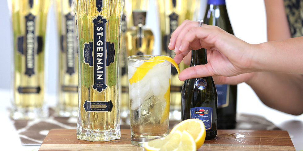 It's Easy, It's Aromatic — It's an End-of-Summer St-Germain Cocktail!