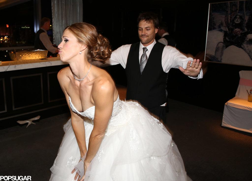 Kevin Federline and Victoria Prince danced together.