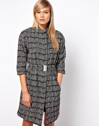 ASOS Mono Belted Trench