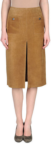 COUTURE DU CUIR Leather skirt