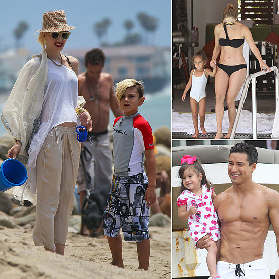 Beach Babies! Celeb Kids Love Some Fun in the Sun