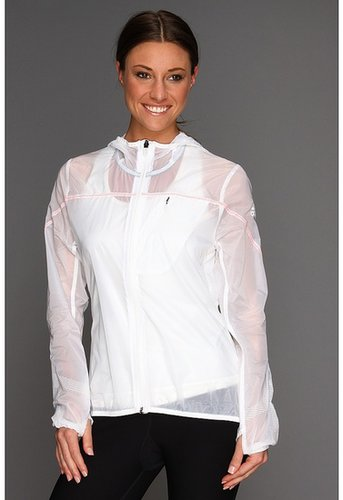 adidas - Fast Roadrunner Jacket (White) - Apparel