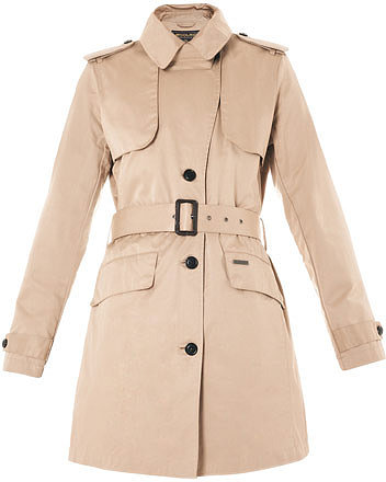 Woolrich John Rich & Bros. Teflon-coated cotton trench coat