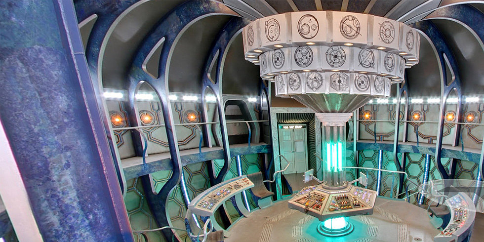 Tour the TARDIS! See the Blue Box From Both Sides of the Pond