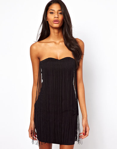 ASOS Fringe Bandeau Dress
