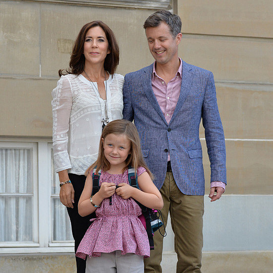 Princess Mary's Daughter on Isabella First Day of School