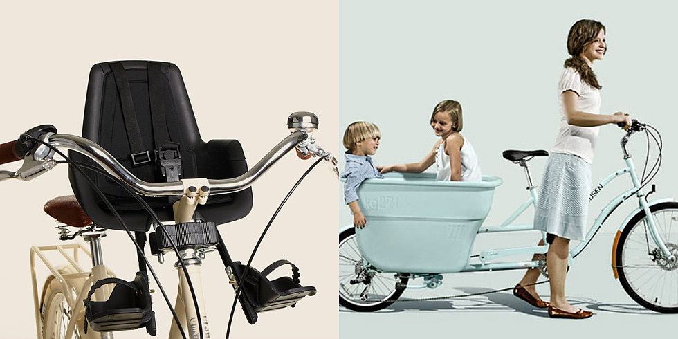 Get Outside and Ride: The Best Bike Seats For Babies