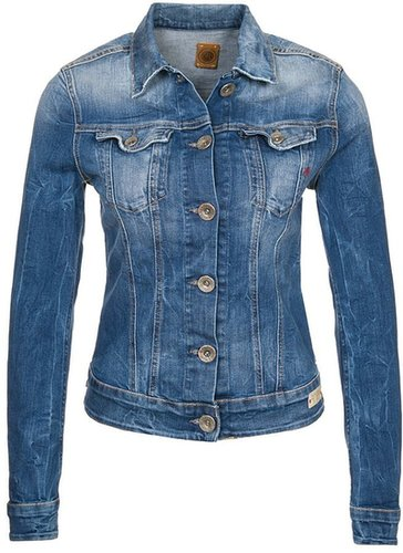 Replay CLASSIC DENIM Veste en jean bleu