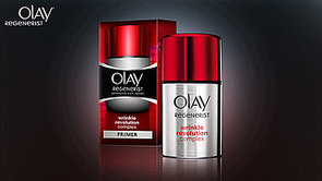 Tell Us What You Think of Olay's New Primer, Regenerist Wrinkle Revolution Complex