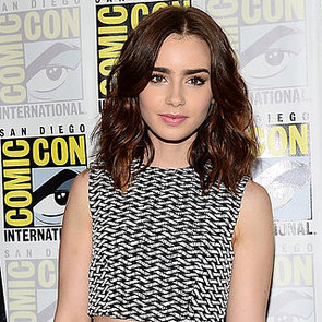 POPSUGAR Celebrity, Fashion, Beauty, Health: Lily Collins
