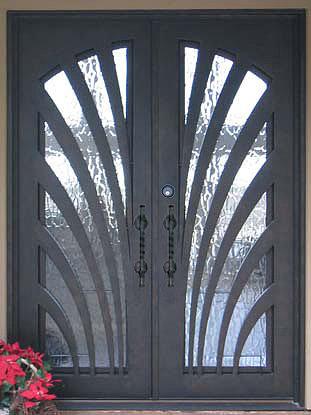 iron exterior doors