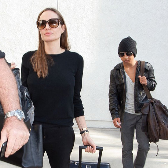 Angelina Jolie With Maddox in LA | Pictures